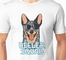 HEELER SQUAD (blue) Unisex T-Shirt