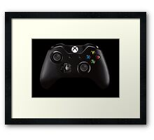 Xbox One Controller Merch! Framed Print