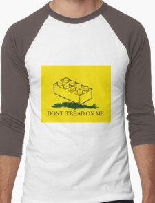 dont tread on legos Men's Baseball ¾ T-Shirt