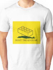 dont tread on legos Unisex T-Shirt