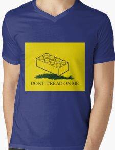 dont tread on legos Mens V-Neck T-Shirt
