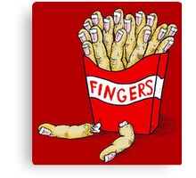 French Fingers Canvas Print