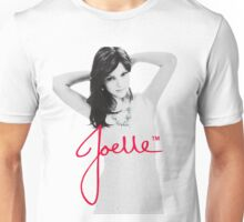Joelle Black & White Blue Necklace Signature Unisex T-Shirt