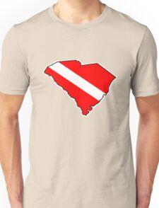 Dive flag South Carolina outline T-Shirt