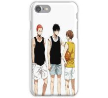 BasketBall Manga iPhone Case/Skin