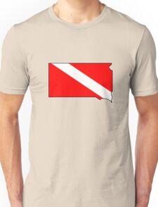 Dive flag South Dakota T-Shirt