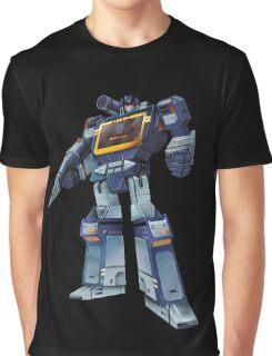 Masterpiece Soundwave (Transparent Background) Graphic T-Shirt