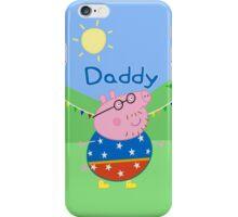 Daddy Pig 2 iPhone Case/Skin
