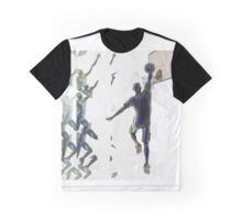 Light bending refraction basketball Graphic T-Shirt