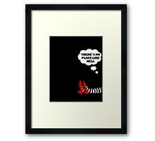 Dorothy and her Red Shoes  Framed Print