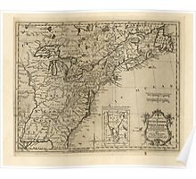 American Revolutionary War Era Maps 1750-1786 172 A new map of the British Dominions in North America with the limits of the governments annexed thereto by Poster