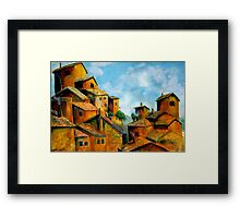 Tuscan Clay Framed Print
