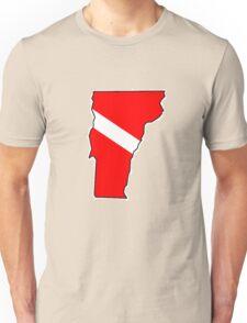 Dive flag Vermont outline T-Shirt