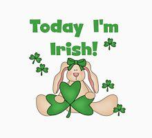 Bunny Today I'm Irish Womens Fitted T-Shirt