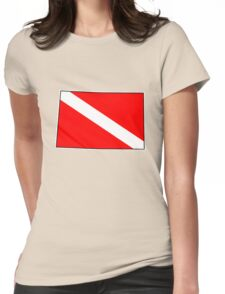 Dive flag Wyoming outline T-Shirt