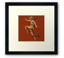 Naked Dancer #5 Framed Print