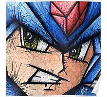 Mega Man the Blue Bomber Poster