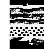 Brush Stroke Waves Photographic Print