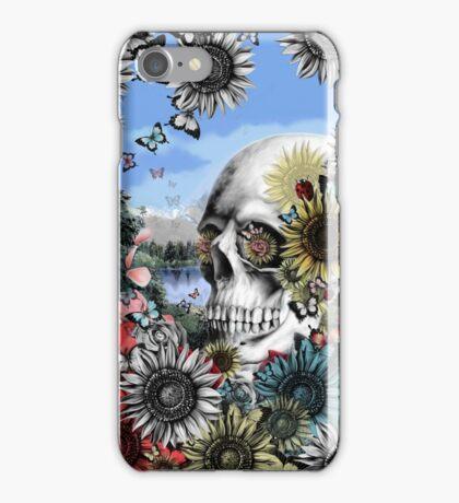 Nature skull landscape iPhone Case/Skin