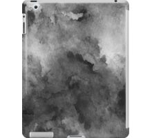 ink style of black watercolour texture iPad Case/Skin