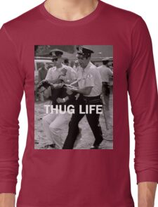 Throwback - Bernie Sanders Long Sleeve T-Shirt