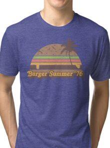 Burger Summer '76 Tri-blend T-Shirt