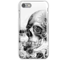 Reflection. Skull landscape iPhone Case/Skin