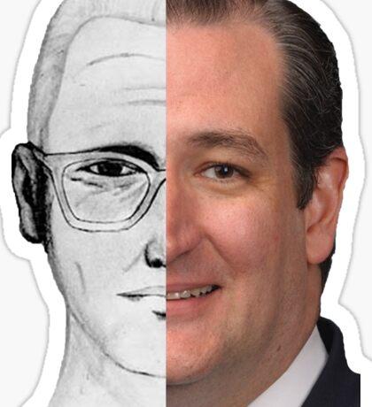 Ted Cruz Is The Zodiac Killer Sticker