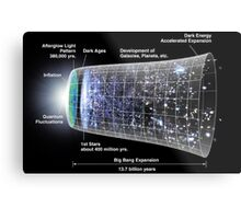 WMAP: Our Inflationary Universe Metal Print