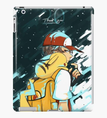 Pokemon-Thank You for 20 Years! iPad Case/Skin