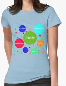 Agario assortment of nicknames Womens Fitted T-Shirt
