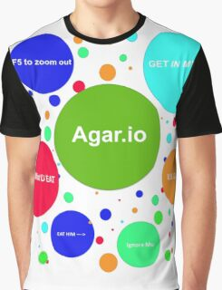 Agario assortment of nicknames Graphic T-Shirt