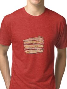 Layer Cake With Cream (Sketch) Tri-blend T-Shirt
