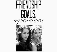 Friendship Goals: Spanna Womens Fitted T-Shirt