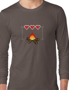 Roasting Some Hearts  Long Sleeve T-Shirt