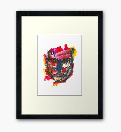 Graphic Man Framed Print