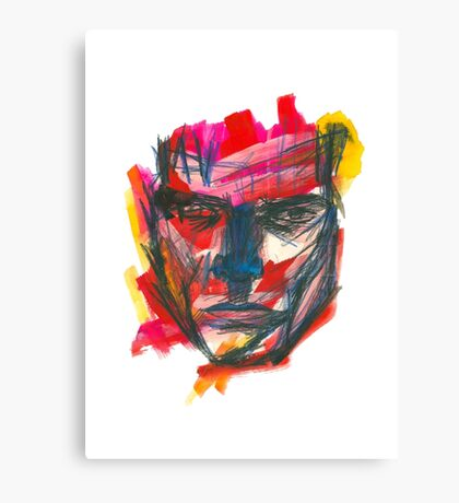 Graphic Man Canvas Print