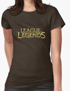 Logo League Of Legends LOL Champion Womens Fitted T-Shirt