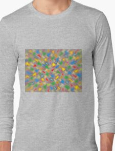 Brush Strokes Long Sleeve T-Shirt