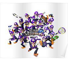 Super WAH Bros. Poster