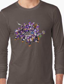 Super WAH Bros. Long Sleeve T-Shirt
