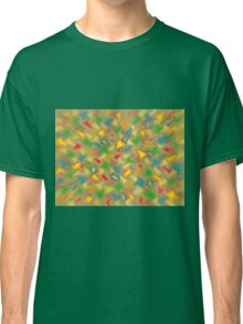 Warm Brush Strokes Classic T-Shirt