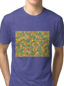 Warm Brush Strokes Tri-blend T-Shirt