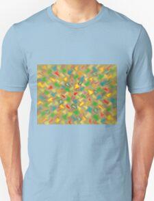 Warm Brush Strokes Unisex T-Shirt