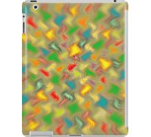 Warm Brush Strokes iPad Case/Skin