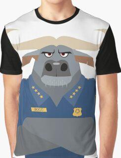 Minimalist Water Buffalo Graphic T-Shirt