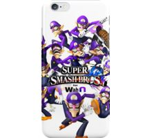 Super WAH Bros. iPhone Case/Skin