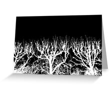 Trees without Leaves Greeting Card