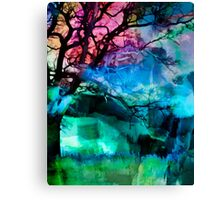 Dusk in Winter Canvas Print