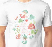 Under the Sea Mermaids Unisex T-Shirt